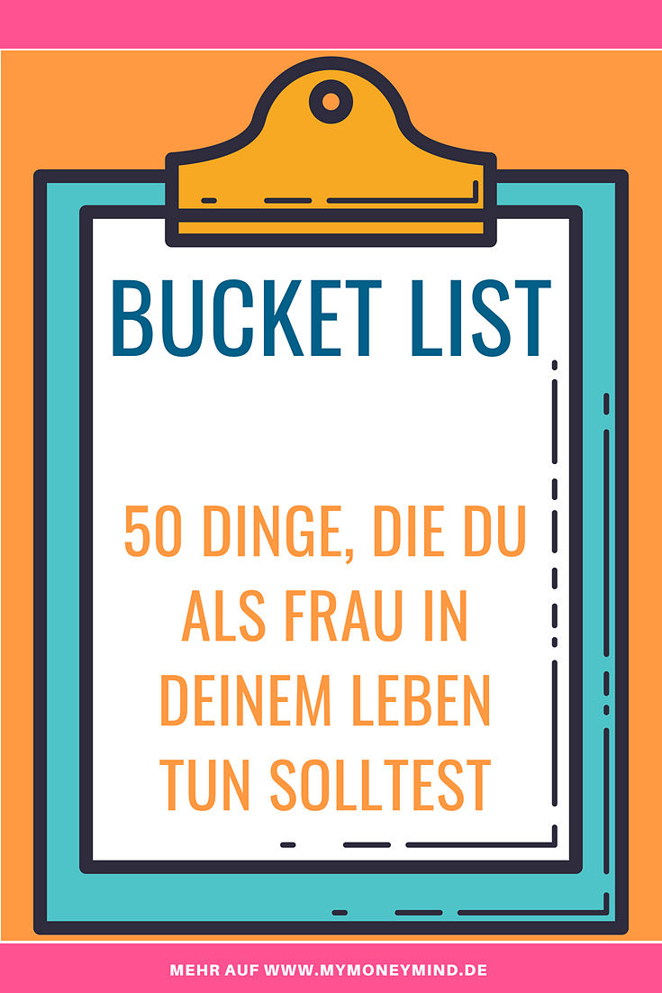 Bucket List für Frauen