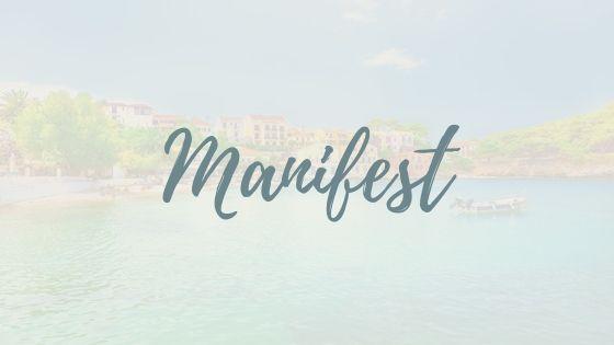 Manifest für ein besseres Leben