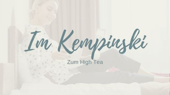 Genuss pur beim High Tea im Hotel Atlantic Kempinski in Hamburg