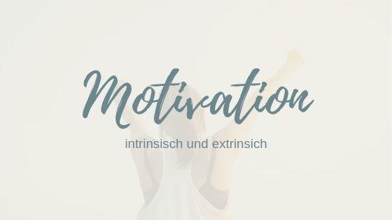 Intrinsische Motivation & extrinsische Motivation: Nur das Beste für dein Geld!
