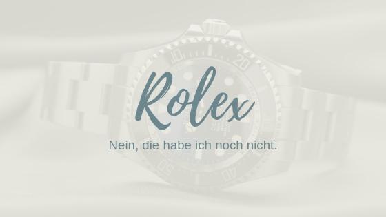 Ich will ne Rolex. So helfen dir Ziele, Prioritäten zu setzen.
