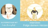 Glitzerstaub Interview Brigitta Tauch