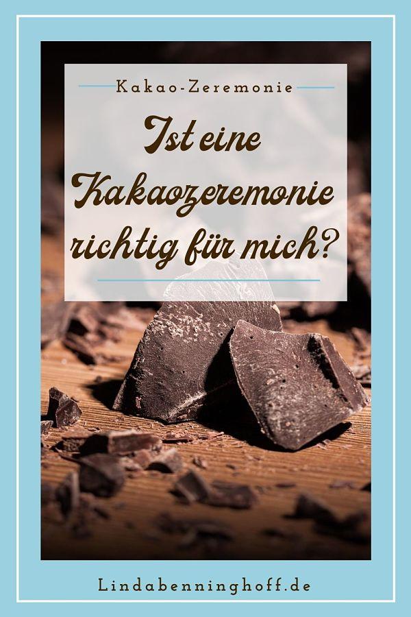 Kakaozeremonie Kakao Schokolade