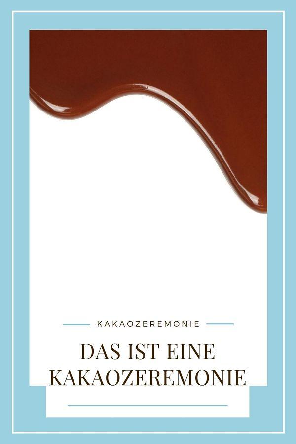 Kakaozeremonie für Pinterest zum Pinnen